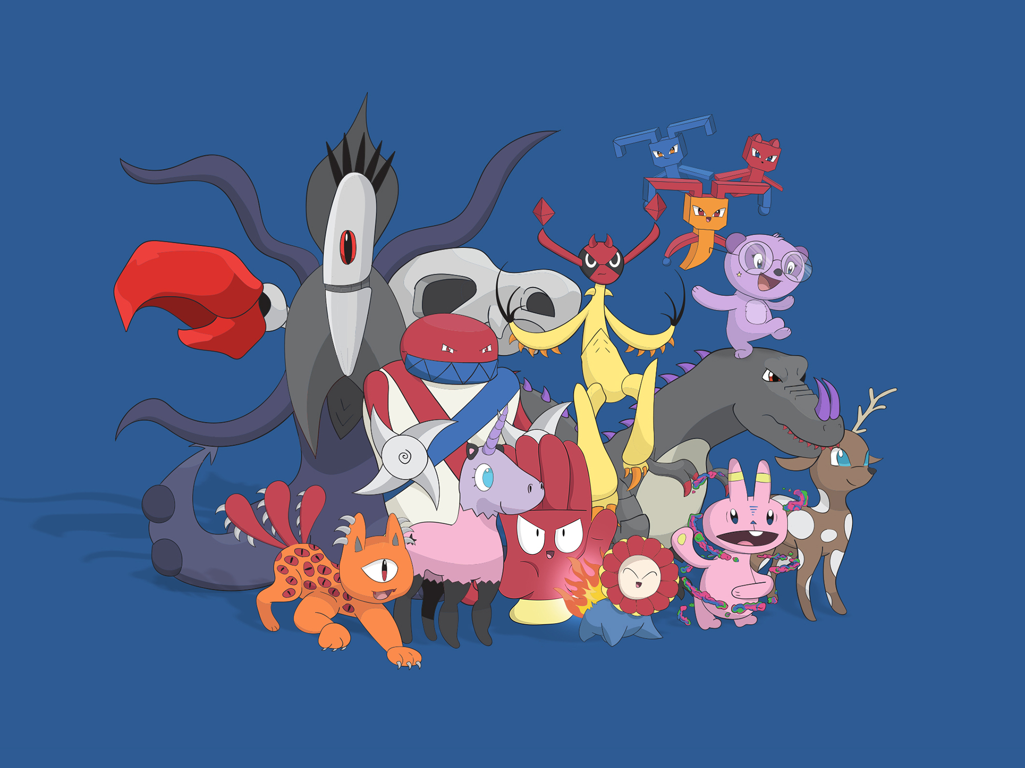 pokemon group 2